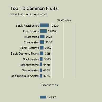 Antioxidants in Elderberries | Antioxidant Foods