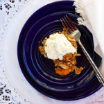 Peach Crisp @ Traditional-Foods.com
