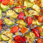 Roasted Zucchini with Tomato @ Traditional-Foods.com