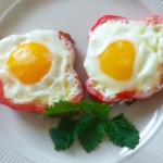 Eggs In Bell Peppers- @ Traditional-Foods.com