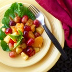 Savory Fall Fruit Salad @ Traditional-Foods.com