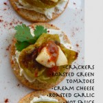 Roasted Green Tomato Canapes @ Traditional-Foods.com