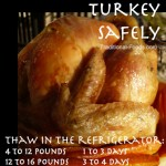 Turkey Thaw Tip @ Traditional-Foods.com