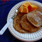 Acorn Pancakes with Bacon at Traditional-Foods.com