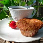 Strawberry Balsamic Muffins @ Traditional-Foods.com