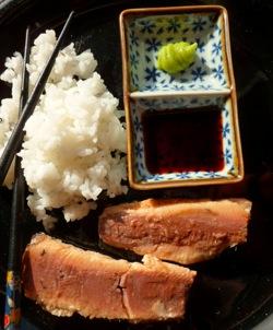 sardines sashimi